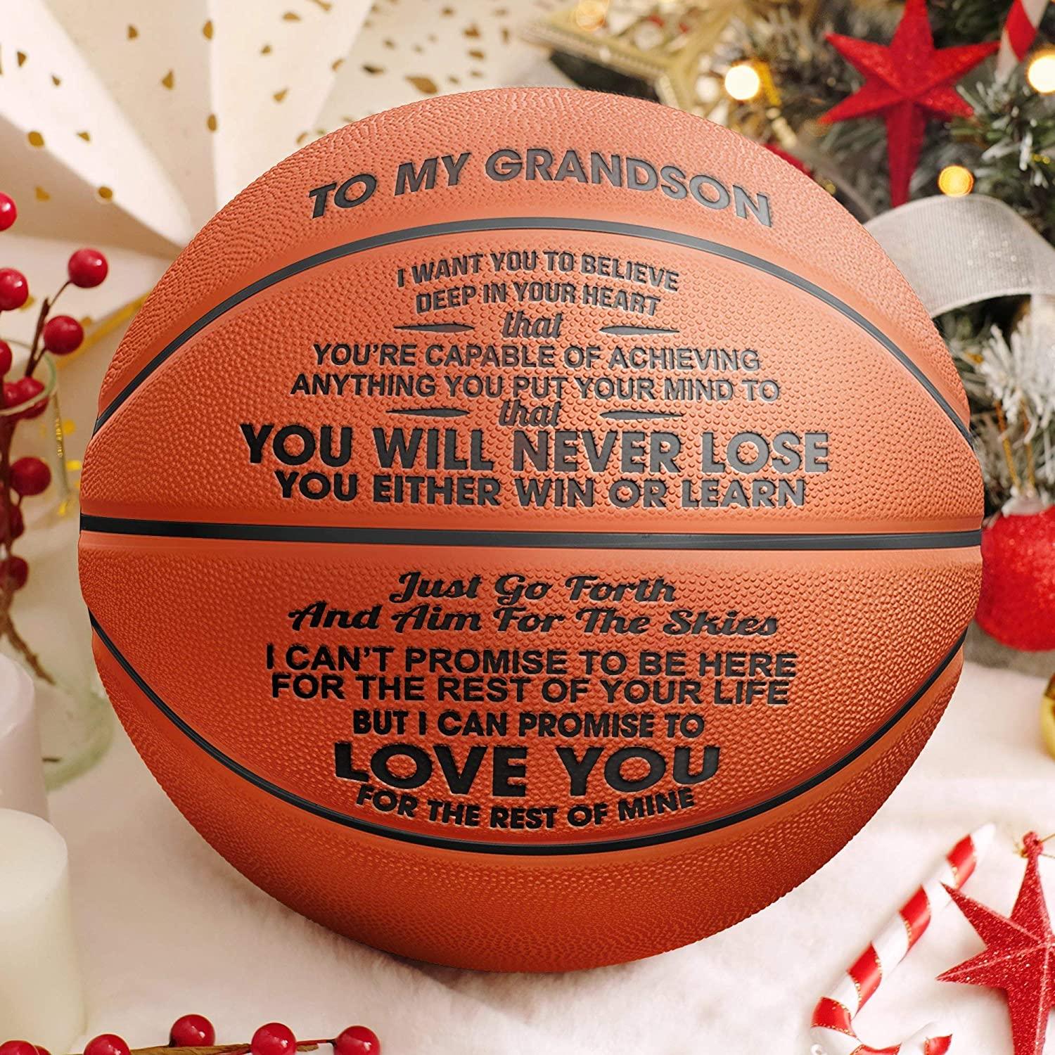 Personalised Christmas Him Gifts Dad Uncle Grandad Son Presents Basketball