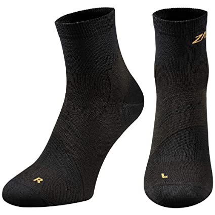 65b0e5b4bc ZaTech Plantar Fasciitis Sock, Compression Socks for Men & Women. Heel,  Arch, Achilles, Light Ankle Support Brace. Increase Blood Circulation,  Reduce ...
