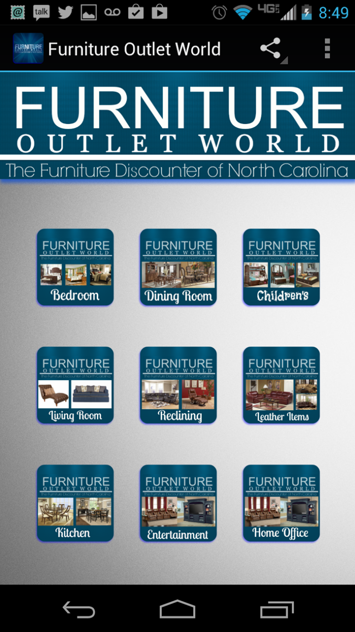 Amazon Furniture Outlet World Appstore for Android