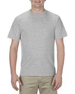 127d0285144 Amazon.com  AlStyle Apparel AAA Plain Blank Men s Short Sleeve T ...