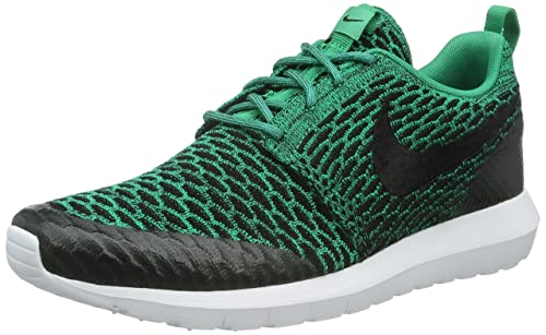 low priced 0f433 e28e4 Nike Roshe NM Flyknit SE, Men s Competition Running Shoes, Green (Lucid  Green