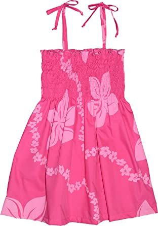 1fee959fd7 Amazon.com  RJC Girls Little Lei Elastic Tube Dress  Playwear Dresses   Clothing