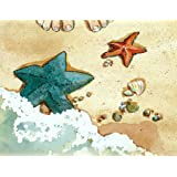 Starfish on the Beach Starfish Story Note Cards - Toes and Starfish - 12 Note Cards With Matching Envelopes (Stationery)