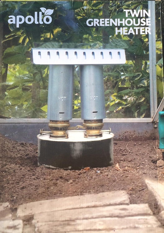 Apollo Paraffin Greenhouse Heater Twin