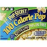 Pop-Secret 94% Fat Free Kettle Popcorn, 1.2 Ounce Bags, 4-Count