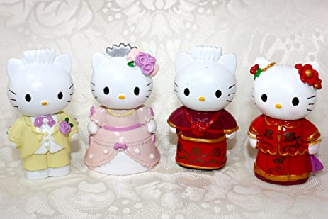 Hello Kitty And Daniel Wedding Cake Topper Set