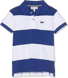 1a1b49223 Lacoste Boy's PJ2909 Short Sleeve Polo T-Shirt: Lacoste: Amazon.co ...
