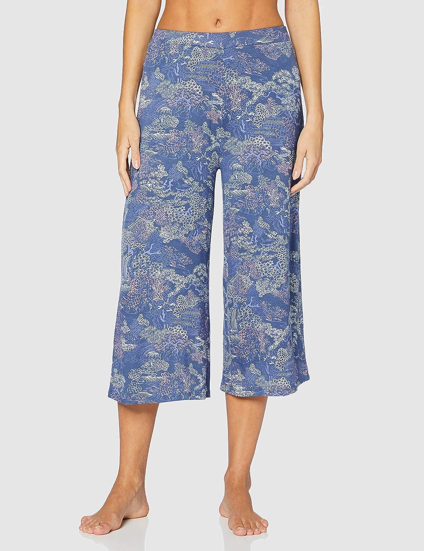 Womensecret, Pijama Mulan Capri para Mujer, Azul Oscuro, M ...