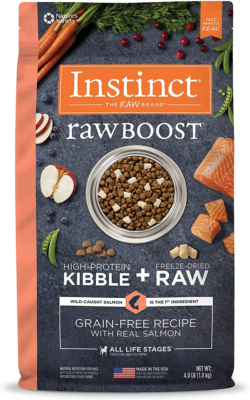 Instinct Raw Boost Grain Free Recipe Natural Dry Dog Food