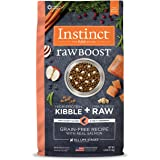 Instinct Raw Boost Grain Free Recipe with Real Salmon Natural Dry Dog Food by Nature's Variety, 4 lb. Bag