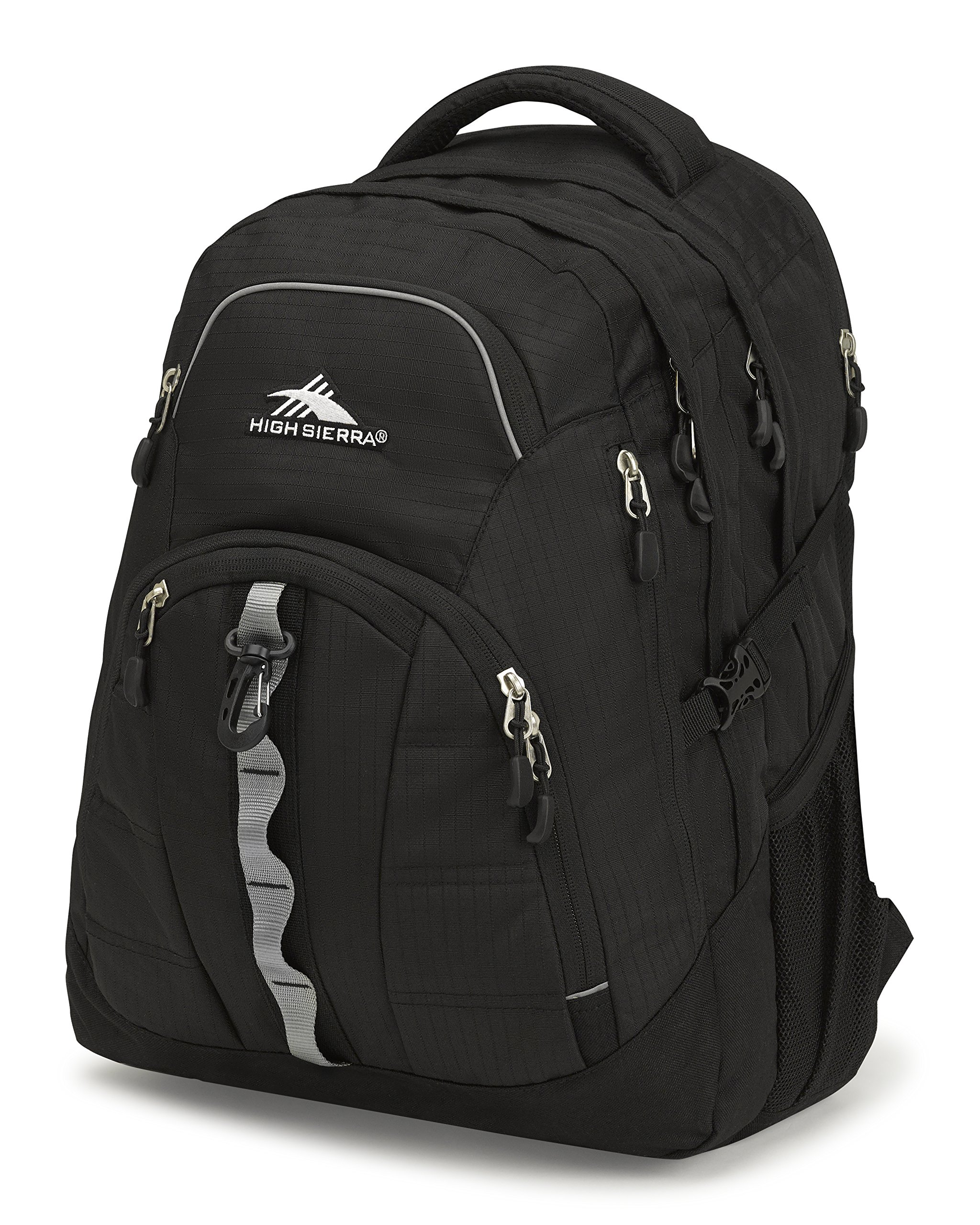 High Sierra Access II Laptop Backpack, Black