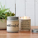 #Thankful - Thank You Candle Gift