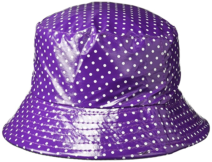 YJDS Women s Rain Hat Waterproof Wide Brim Foldable Purple at Amazon ... 808f4de1f09