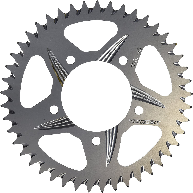 Vortex 248A-45 Silver 45-Tooth Rear Sprocket
