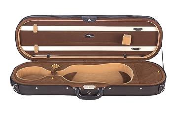 Estuche para Violín Espuma Delux 4/4 marrón M-Case: Amazon ...