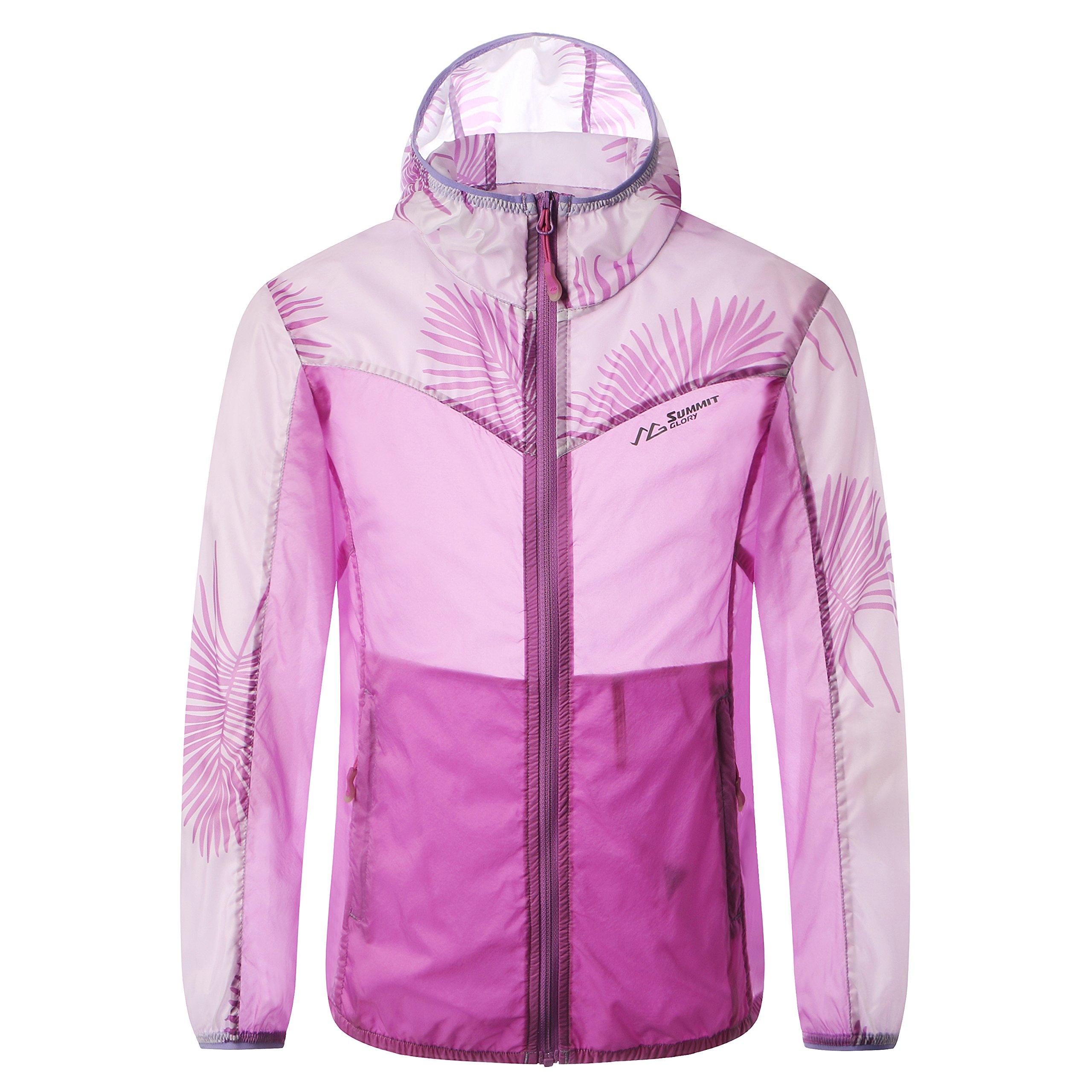 Summit Glory Kid's Ultra Lightweight Quick Dry Outdoor Jacket Skin Coat