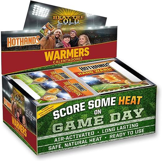 126 pair HotHands Toe Warmers jumbo case