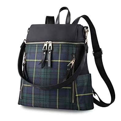 9151ed243fc5 Women Backpack Handbag Ladies Rucksack Waterproof Nylon School Bag Casual  Daypack Shoulder Bags for Women (