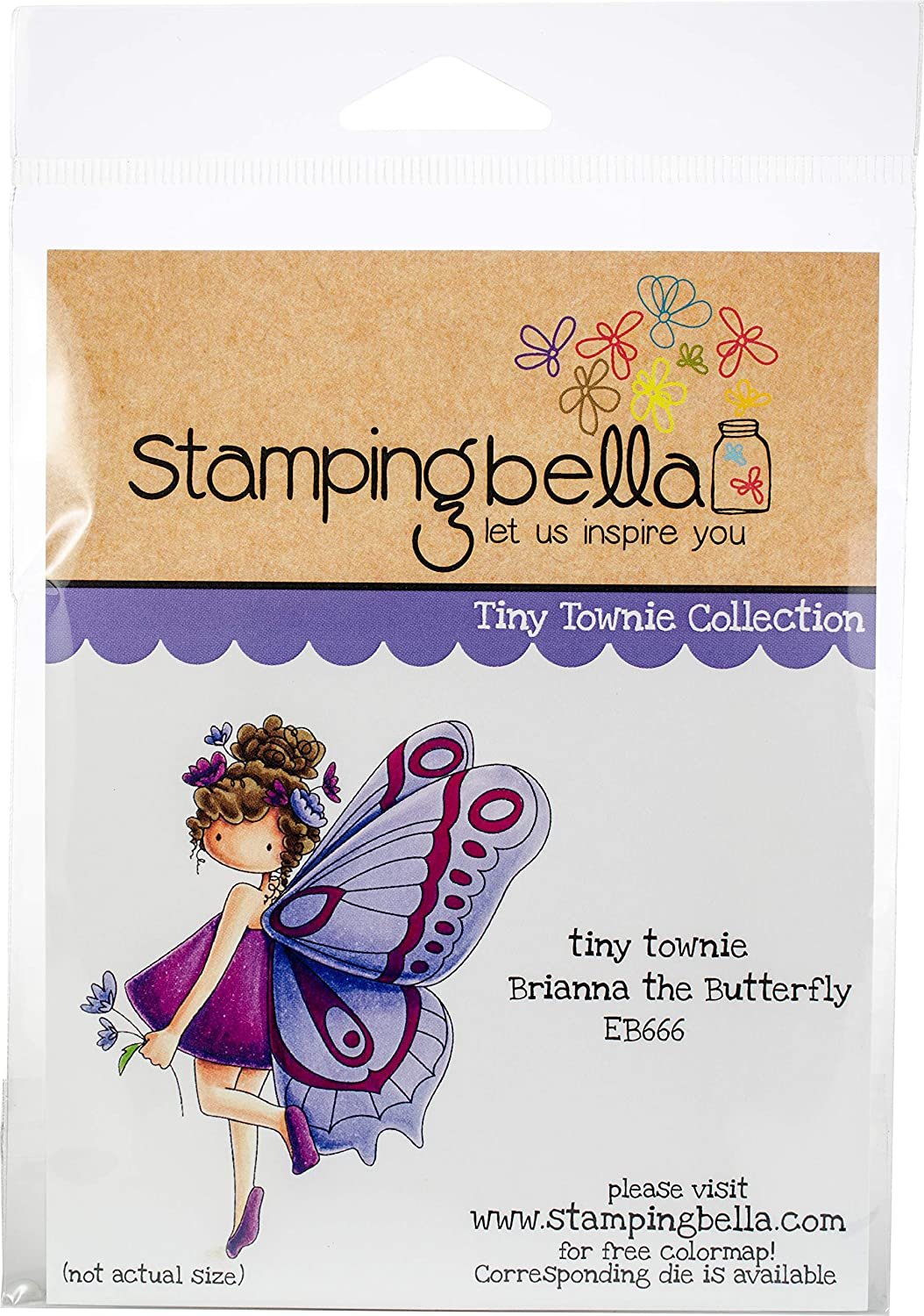 Stamping Bella Cling Stamps-Brianna The Butterfly