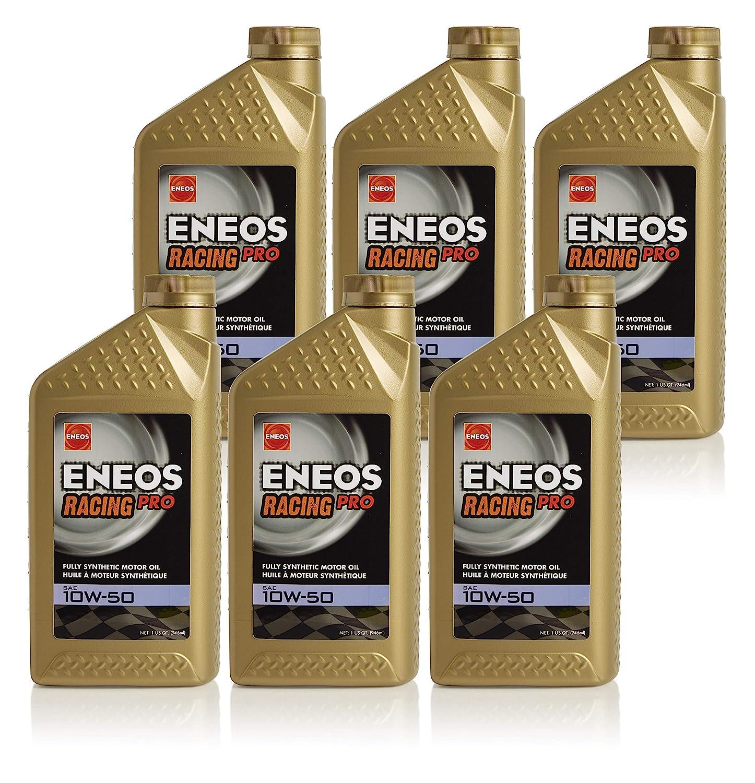 Amazon.com: Eneos 0W-50 Racing Street Oil, 1 Quart (Pack of 6): Automotive