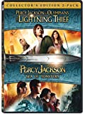 Percy Jackson Collector's Edition: The Lightning Thief + Sea of Monsters (2-Disc)
