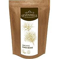 Sevenhills Wholefoods - Semillas de chia crudas, orgánico