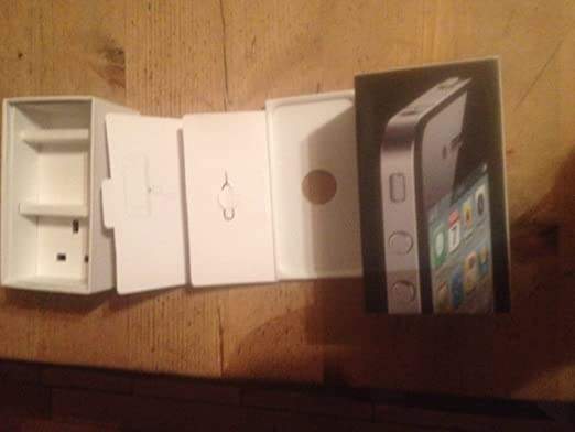 Apple IPhone 4 Box Accessories Black 16GB