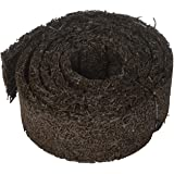 Plow & Hearth 55632 Recycled Rubber Permanent Garden Mulch Border, 120 L x 4.50 W