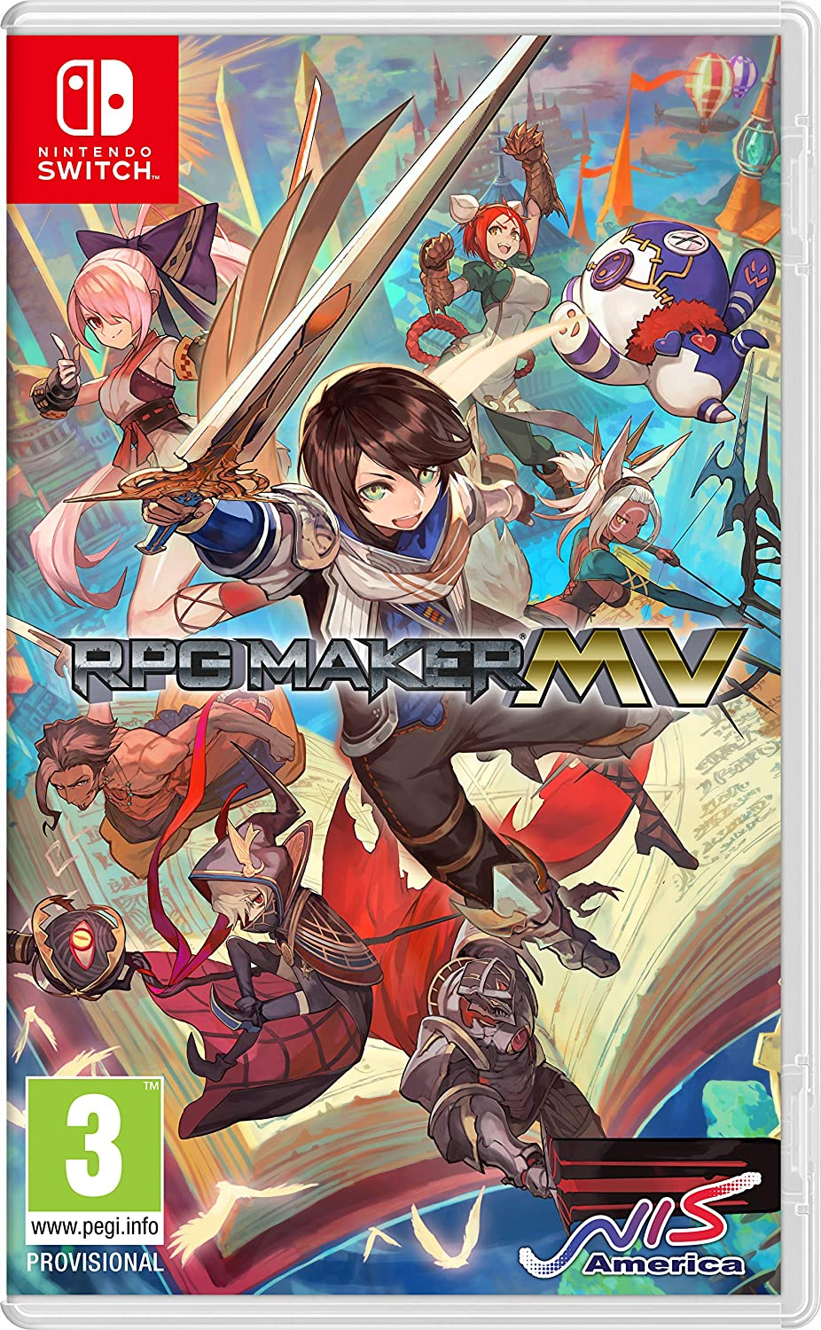 RPG Maker MV (Nintendo Switch): Amazon co uk: PC & Video Games
