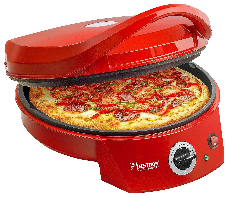 Bestron Horno Grill Eléctrico para Pizza, Viva Italia, Calor ...
