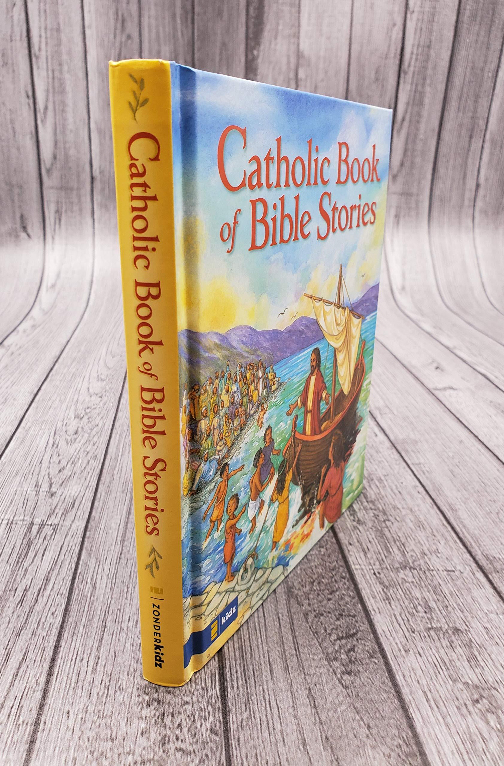 Bible Stories Catholic Activity Books for Children Autom