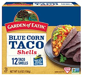 Garden of Eatin' Blue Corn Taco Shells, 12 Count