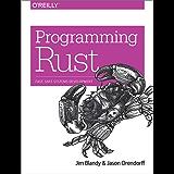 Programming Rust: Fast, Safe Systems Development