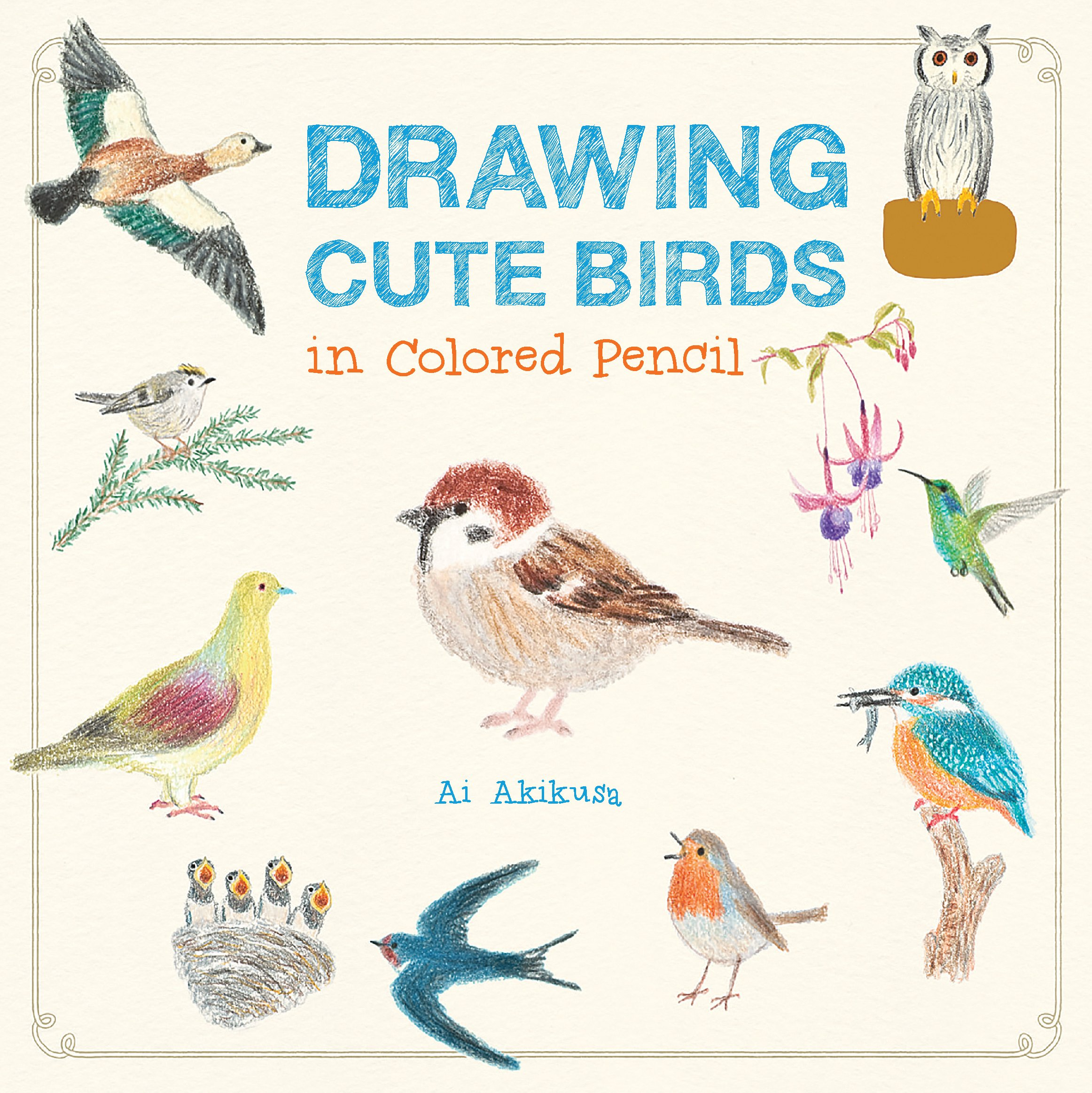 Amazon drawing cute birds in colored pencil 9781631592652 ai amazon drawing cute birds in colored pencil 9781631592652 ai akikusa books fandeluxe Images