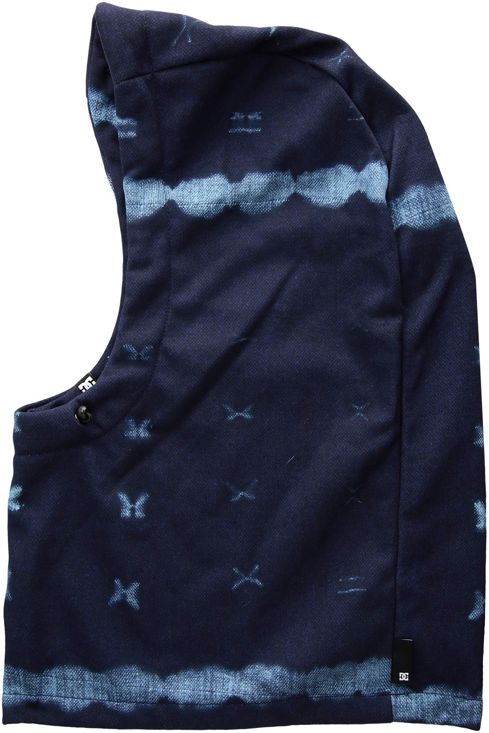 DC Apparel Women's HOODACLAVA Neck Warmer, dark blue mud CLOTH b, One Size by DC Apparel