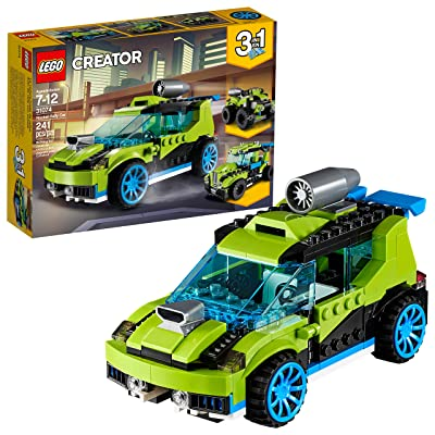 LEGO Creator 3in1 Rocket Rally Car 31074 Building Kit (241 Pieces): Toys & Games [5Bkhe0305522]