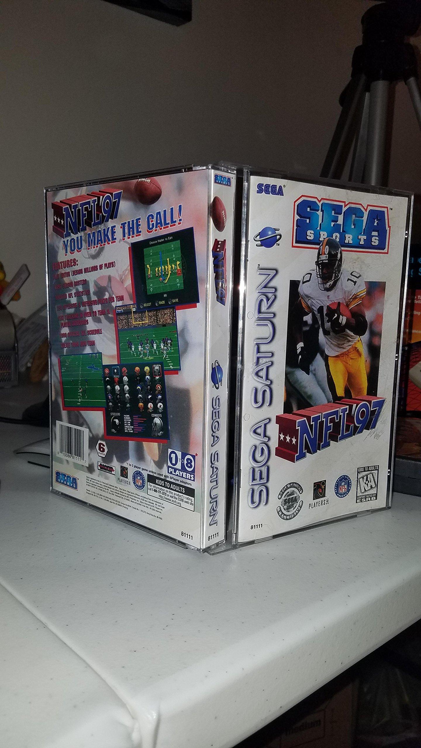 Amazon com: NFL '97 - Sega Saturn: Video Games
