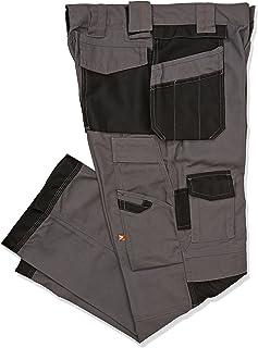 Lee Cooper 206 - Pantaloni da lavoro alla zuava, con ginocchia rinforzate, colore nero, marina, muschio