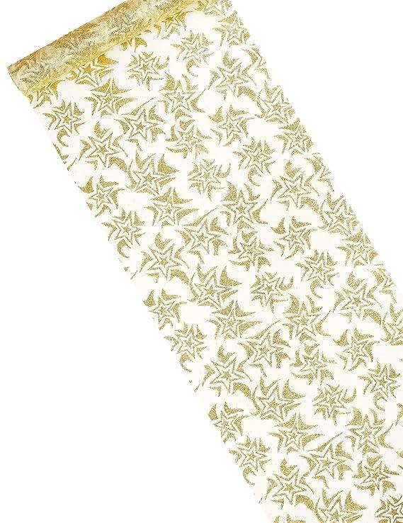 Runner da tavola oro tavolo Band Tessuto decorativo Stuktur