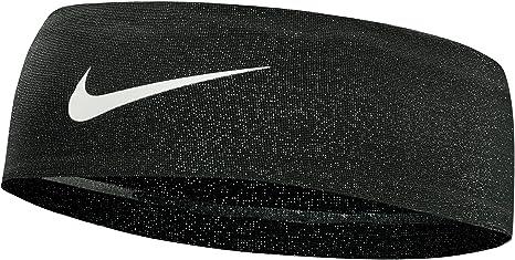 Amazon.com  Nike Women s Printed Fury Headband 2.0 (Black Metallic ... 34ff3525915