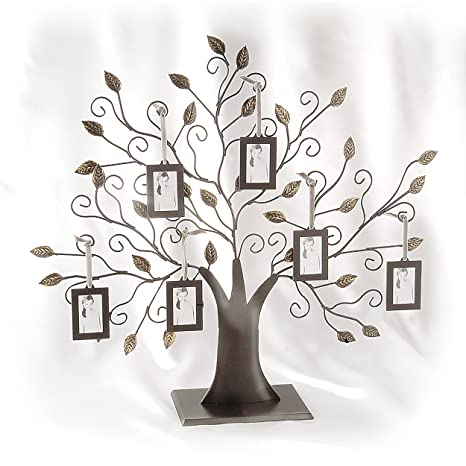 family tree wall hanging pattern crafts family tree w6 hanging picture frames amazoncom