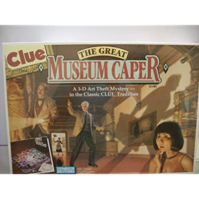Clue - The Great Museum Caper: Toys & Games