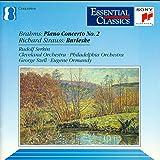 Brahms: Piano Concerto, No. 2 / Strauss: Burleske (Essential Classics)