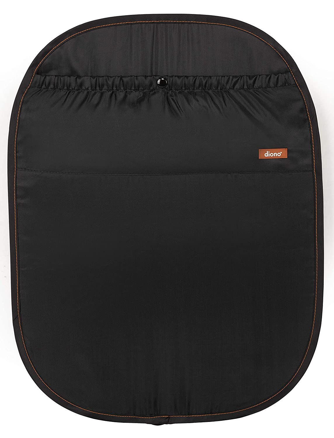 Diono Stuff N Scuff Car Seat Back Protector For Newborns And Above Black Baby