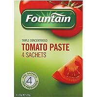 Fountain Tomato Paste 4 Sachets, 200 g