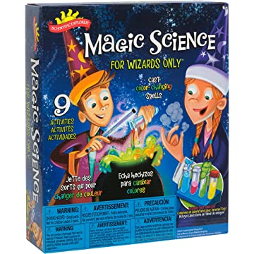 powerful Scientific Explorer Magic Science For Wizards Only