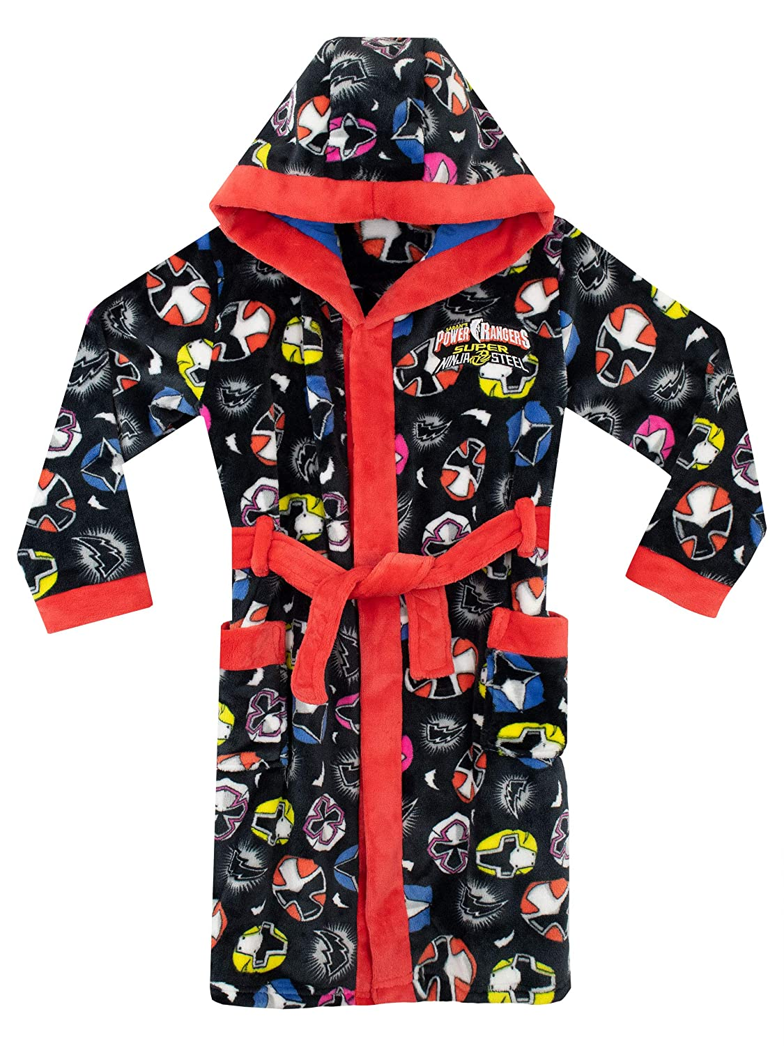 Power Rangers Boys Ranger Heads Dressing Gown