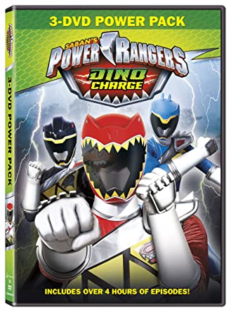Amazon.com: Power Rangers: Dino Charge: Brennan Mejia, James ...