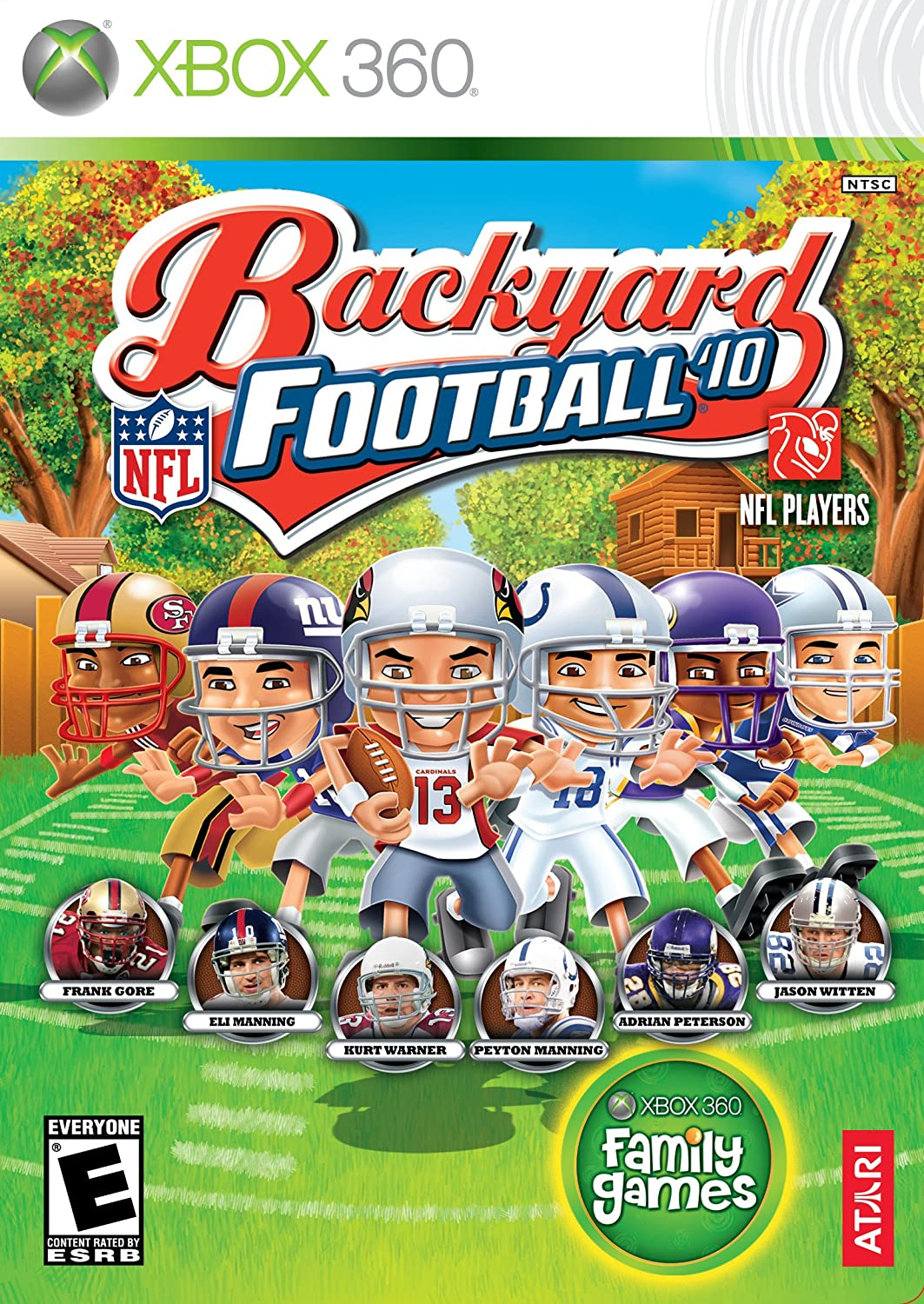 amazon com backyard football 2010 xbox 360 video games