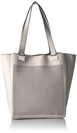 8f69397dac Amazon.com: Vince Camuto Beatt Small Tote, vapors grey/a: Clothing